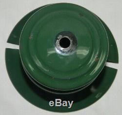 1946 COLEMAN 242B SPORT-LITE gas LANTERN LAMP w Green Logo GLOBE T66 Generator