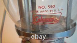 200a Coleman antique single mantel Lantern Nearly new, mint condition w box 7/74