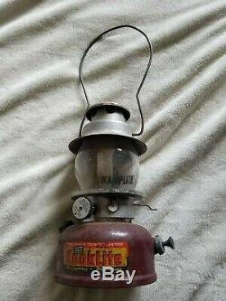 AGM KookLite Lantern Kamplite Globe Vintage Red Camping