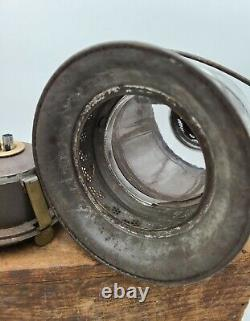 Antique Edward Miller Mfg Co. J. J. Marcy patent 1870s dead flame LANTERN