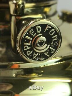 Antique Vtg Bradley Hubbard Brass Oil Lamp B&H Ornate Parlor Lantern, Converted