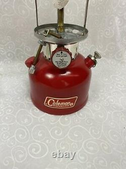 COLEMAN 200A GLOBE LANTERN WithBOX AND PAPERS NOS, RARE HTF USA, 07-1972 MINT