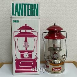 Coleman 200A 1954.6 Vintage Camping Lantern Red withBoxOperation confirmed