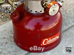 Coleman 200A Lantern 5/1962 Burgundy Survivor Vintage Camping