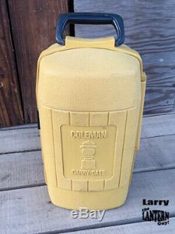 Coleman 200A Lantern Clam Shell Case Vintage Camping