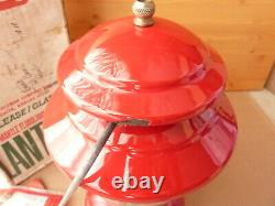Coleman 200A Lantern made in USA 1970 orig box mantles funnel & safe a beauty