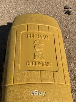 Coleman 200A Short Vent 1963 & up Lantern Clam Shell Case Vintage Camping