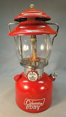 Coleman 200 A Red Lantern 10/ 1972 Cheap Ship to Asia Investment Grade