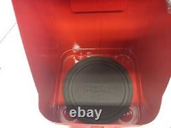 Coleman 200a Red Lantern withMetal Guillotine Case, Storage Ring, Funnel 8/1966
