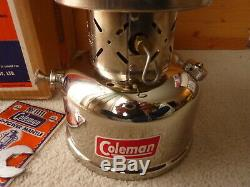 Coleman 236 Lantern NEW never fired made in Canada 1958 original box very nice