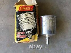 Coleman Gold Bond Yellow Lantern 228H704 5/1973 With Original Box