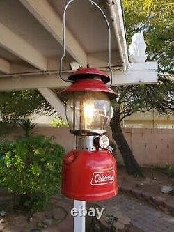 Coleman Lantern 200a WithRed Case