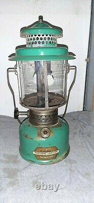 Coleman Model 235 Kerosene Lantern dated December 1935 very hard to find lantern