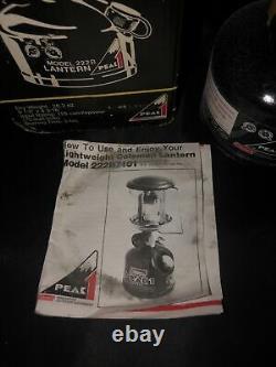 Coleman Peak 1 Lightweight Backpack Lantern Model 222B7101