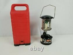 Coleman Peak 1 Lightweight Hiking Lantern 222a with Hard Case Canada Black 1989