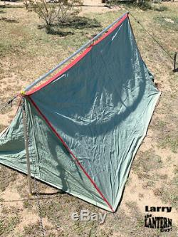 Coleman Tent 5x7 Never been used Dusty Super Nice Vintage Camping Lantern