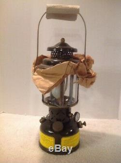 Coleman Vintage US Military Gas Lantern 1975 New In Box, Never Fired NOS NICE
