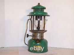 Coleman lantern model 235, kerosene, 1935, works, rare