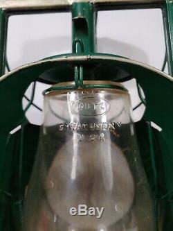 Dietz Lantern Acme Inspector Lamp Railroad Lantern NY Vintage Antique