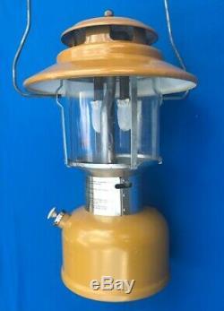 Excellent Vintage Coleman 228H Feb. 1974 Gold Bond Lantern