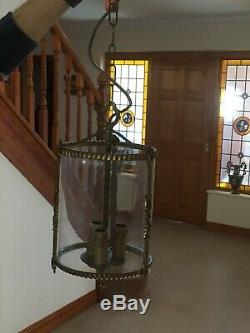Hall Porch LANTERN LAMP PENDANT Light VINTAGE FRENCH