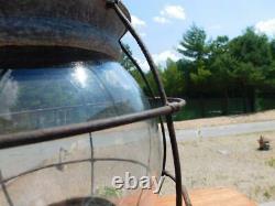 Large Antique Vintage Perko Onion Signal Lantern Ship Boat Nautical Light
