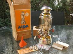 NOS! Aida 1250 Express Record Vtg. 250 cp Kerosene Lantern Pressure Lamp Germany