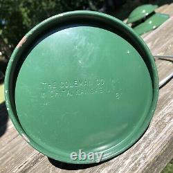 Never Used Green Coleman Lantern Model 200A Date 11-80 Original Globe