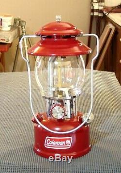 New-Old-Stock Coleman 200B Lantern, Metal Carry Case, Original Box 12/93