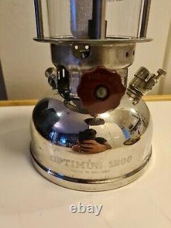OPTIMUS 1200 Military Lantern Army From Sweden With Box Very Rare