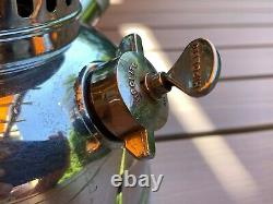 Portuguese Hipolito Smallest 150 CP Pressure Lamp Paraffin Kerosene Lantern Baby