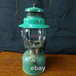 RARE Coleman 234 Kerosene Gas Seafoam Green Lantern 1936 HTF dual fuel vintage