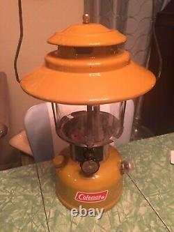 RARE Vintage 12 1973 Coleman Gold Bond 228H Lantern Working Nice Condition