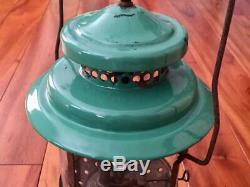 RARE Vintage Coleman 235 Double Mantle Kerosene Lantern 12/1935