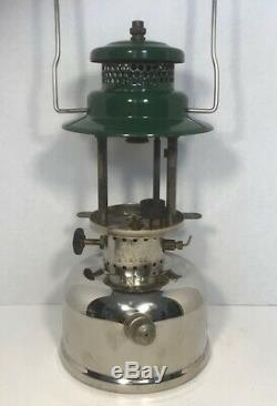 RARE Vintage Coleman CPR Lantern Model 247 dated 1-62 with caboose mounting bar