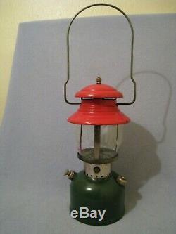 Rare Vintage Coleman Model 200 Christmas Lantern, 4/1951