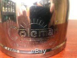 Rare Vintage lantern Coleman 249 Made in Australia Kerosene dated 2-52