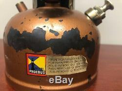 Rare Vintage lantern Phoebus 615 Kerosene made in Austria. Not Ditmar Coleman