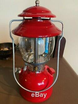 Red Coleman Lantern 200A 1971 Near Mint Condition