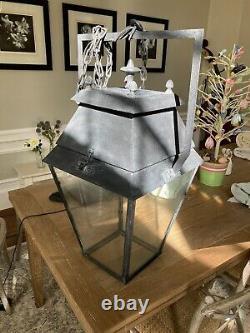 Restoration hardware chandelier lantern