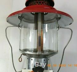 Sears Ted Williams Model 476 7020 Double Mantel Gas Lantern Dated 11 65