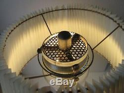 Tilley Tl120/a Table Lamp Cw Shade & Torch 120a 1971 Vtg