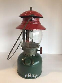 Vintage 1951 Coleman Lantern 200A CHRISTMAS Dated 8/51