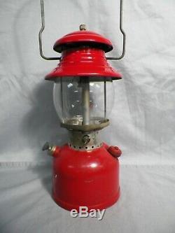 Vintage 1959 Coleman Red 200A Lantern 9/59