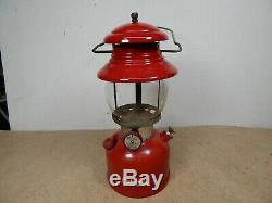 Vintage 1962 Coleman Model 200A Gas CAMPING LANTERN 10-62 Nice one