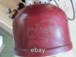 Vintage 1962 Coleman Model #200A Single Mantle Red Lantern