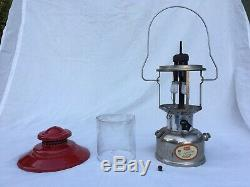 Vintage 1967 Sears Ted Williams Model 476.70200 Double Mantel Gas Lantern