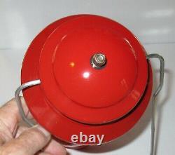 Vintage 1967 Sport-Lite Red Coleman Lantern no 200A & Box +