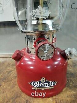 Vintage 1995 200B Unfired Coleman Lantern NOS Dated 8/95 Unused Camping