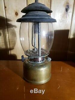Vintage Aladdin Brass Kerosene Lantern Model PL1 Estate Find